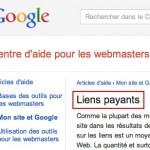 Google pénalise son propre site pour achat de liens follow !