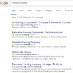 Sur ordinateur, Google retire AdWords de la barre latérale et ajoute une 4ème pub en haut