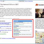 De la publicité AdWords sur les pages des partenaires Google News