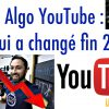 Algo YouTube fin 2016