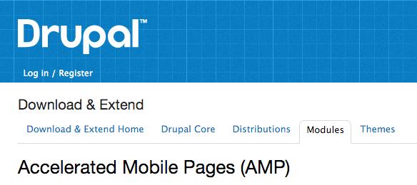 Module AMP Drupal