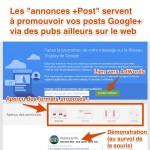 Publicités Google+ : les Annonces +Post sont disponibles pour tout le monde