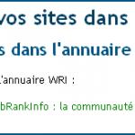 L'annuaire WebRankInfo passe au référencement local