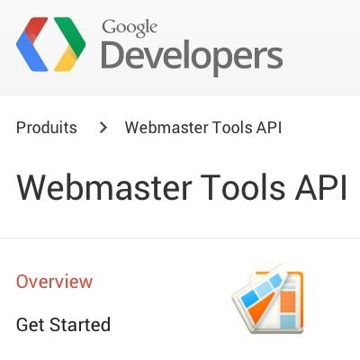 Changement de l'API Google Webmaster Tools