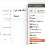Testez le crawl de votre appli mobile en fournissant votre .apk à Search Console