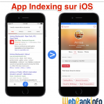 Indexation d'application iOS dans Google