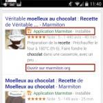 L'indexation d'applications Android dans Google désormais ouverte à tous