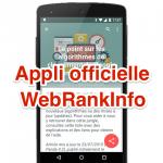 L'application mobile WebRankInfo est sortie pour smartphones, tablettes et montres Android