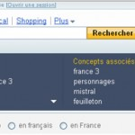 L'assistant de recherche sur Yahoo! Search France