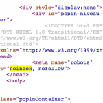 Voici pourquoi (et comment) vous devriez vérifier les balises meta robots noindex partout dans (toutes) vos pages