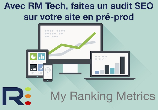 Audit SEO RM Tech preprod