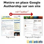 Tuto : mettre en place Google Authorship sur son site