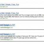 Bing : meilleure gestion des snippets vides