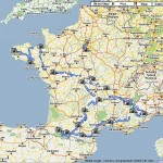 Suivre le Tour de France 2008 avec Google Street View