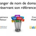 Changer le nom de domaine d'un gros site: impact référencement