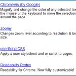 Google Chrome : des extensions pour améliorer l'accessibilité