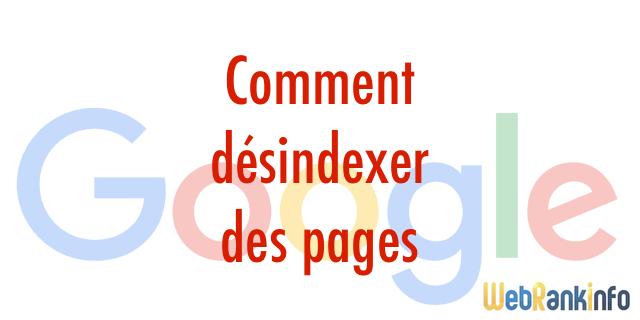 Tuto: comment supprimer des pages de Google