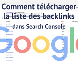 Comment télécharger les backlinks dans search console