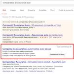 Google impose son comparateur d'assurance auto (UK, DE) sauf en France