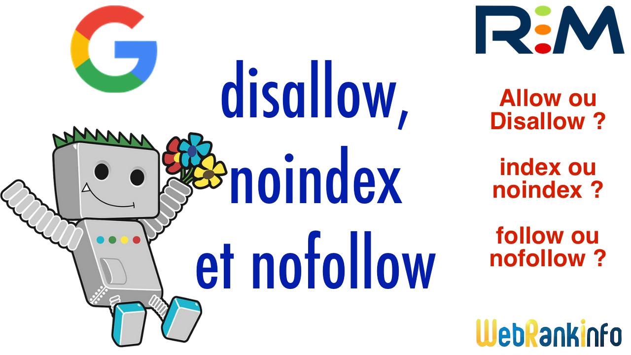 disallow noindex nofollow