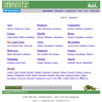 L'annuaire DMOZ (Open Directory)