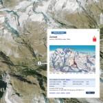 Consulter l'enneigement des stations de ski des Alpes dans Google Earth