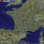 Carte du Tour de France 2008 dans Google Earth