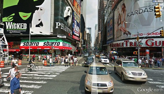 StreetView dans Google Earth v.6.1