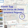 Easter Egg Link de Zelda