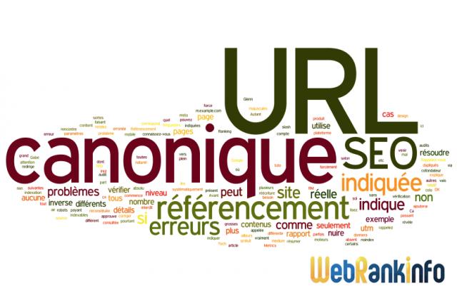 Erreurs URL canonique et SEO