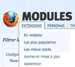 Extensions Firefox : le best of
