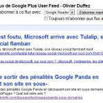 S'abonner au flux RSS des publications d'un contact Google+
