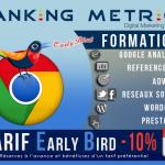 Toutes les prochaines formations Ranking Metrics (SEO, AdWords, Analytics, réseaux sociaux)