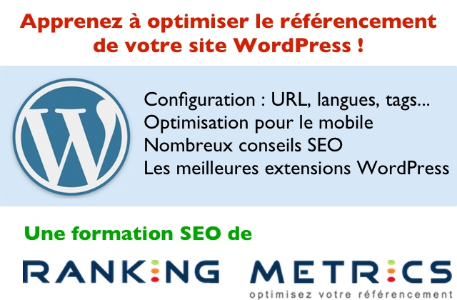 Formation referencement wordpress