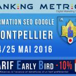 Ne ratez pas la formation SEO à Montpellier par Olivier Duffez (WebRankInfo / Ranking Metrics)