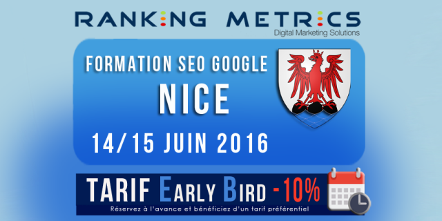 Formation SEO à Nice