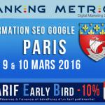 Formation référencement naturel à Paris par Ranking Metrics (audit inclus)