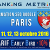 Formation SEO à Paris (octobre 2016)