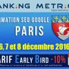 Formation SEO à Paris (décembre 2016)