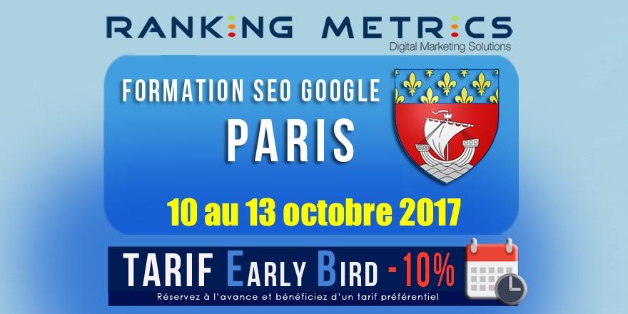 Formation r f rencement paris audit seo inclus octobre 2017 - Expo paris octobre 2017 ...
