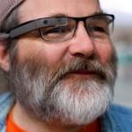 Les lunettes Google sur des lunettes de vue