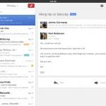 Nouvelle version de l'appli Gmail sur iPad