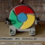 Les vidéos publicitaires pour Google Chrome