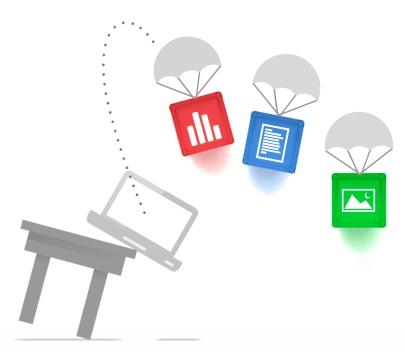 Google Drive: sauvegarde des fichiers