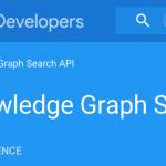Sortie de l'API Knowledge Graph Search