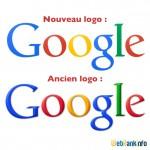 Le nouveau logo de Google flat design (septembre 2013)