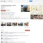 Exemple de fiche Google Maps (USA)