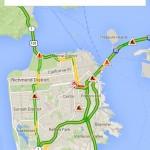Google Maps intègre les données temps réel de Waze (signalement d'accidents, routes barrées)