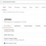 Google affiche les menus des restaurants directement dans les SERP