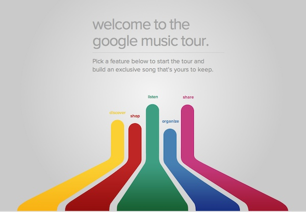 Démonstration de Google Music